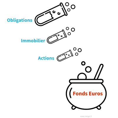 Composition Fonds Euros Assurance Vie