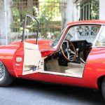 Oldtimer rotes Coupe