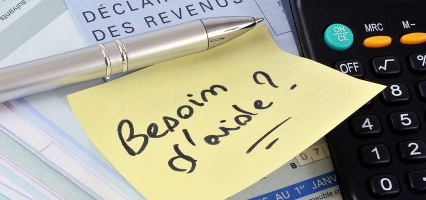 Besoin d'aide pour la declaration de revenus expert comptable