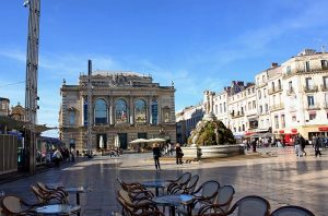 Montpellier place de la comédie