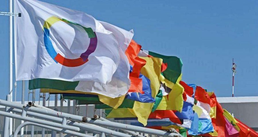 francophonie drapeaux