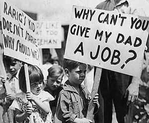 Crise 1929 aux USA