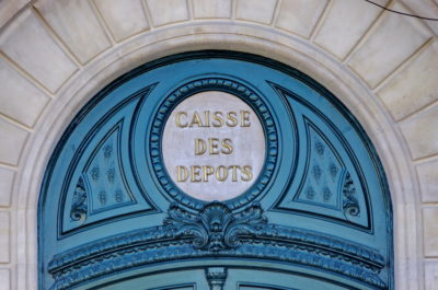 Caisse des dépôts, Paris, France