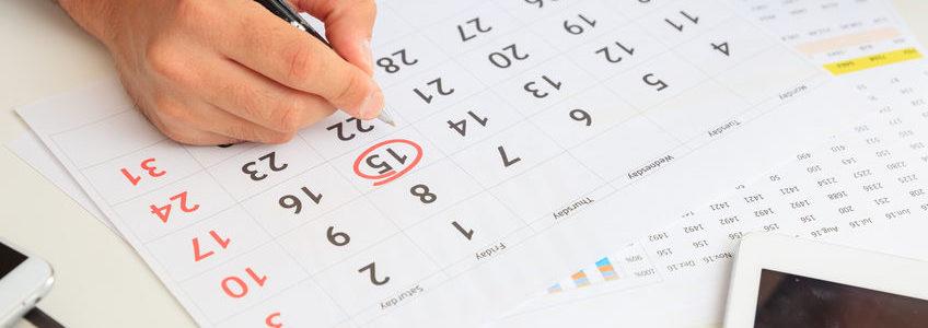 Calendrier déclaration impôt revenus 2020 dates limite