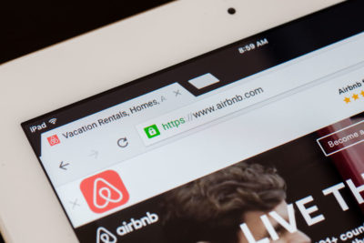 Airbnb plateforme location en ligne